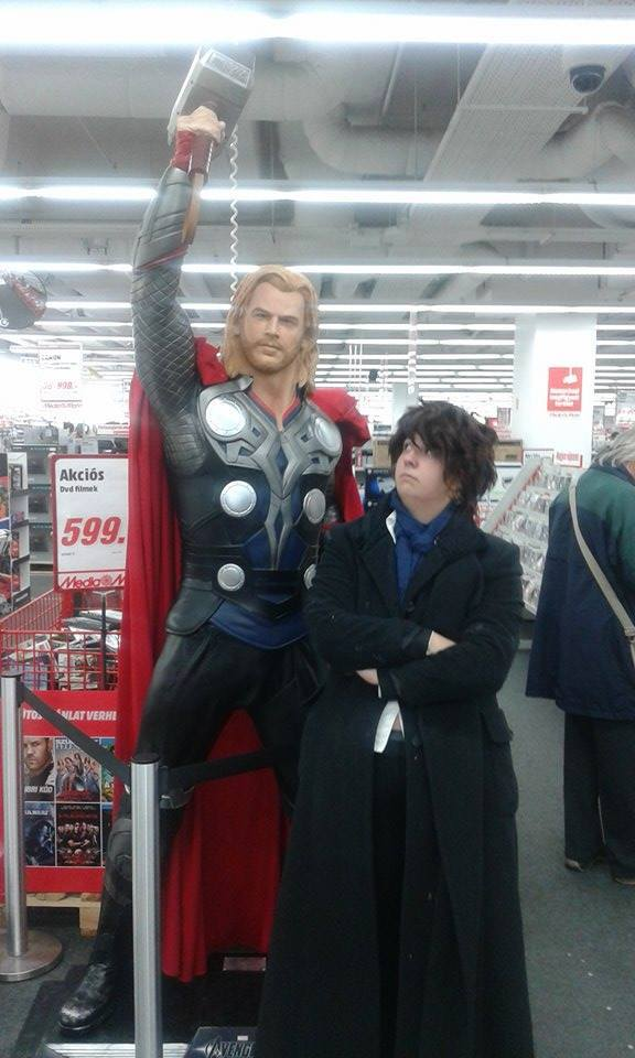 Excuse me Thor, why are you so tall? by Tatsushin