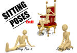 MMD Sitting Poses... Fail