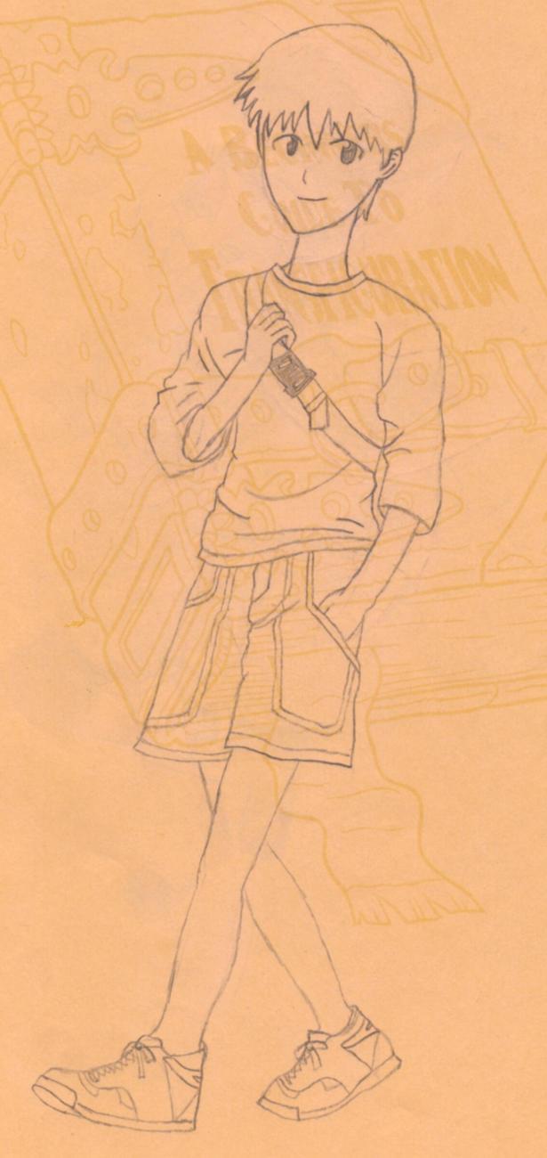 Sinji Ikari by hishou