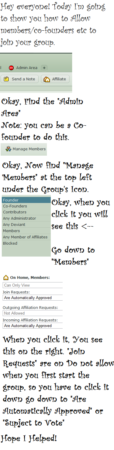 How to: Open a group by Katie-Kimii