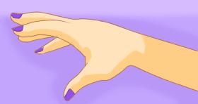 Reaching hand thing - Paint Tool Sai by Katie-Kimii