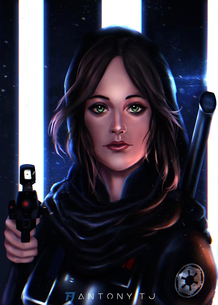 Jyn Erso - Rogue one by Antony-TJ93