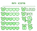 Mini Icon Frogy edition: FREE by MisakiHanako
