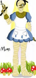 Alice Mums by HARECROW