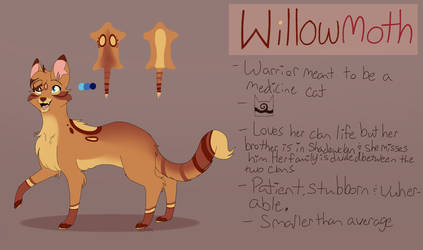 Willowmoth ref by MadDaDog