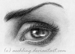 Eye Practice by aechling