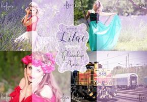 Lilac Photoshop Action by Blokotek