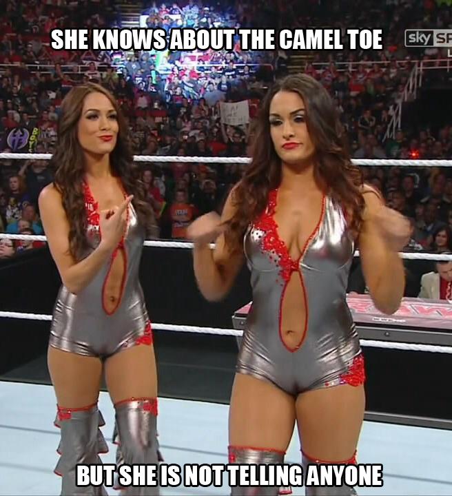 Cameltoe wwe divas WWE: Alexa