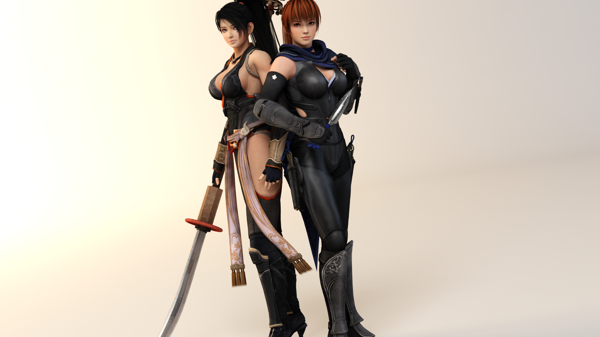 Momiji and Kasumi Semi-Finals by CeCeFever on DeviantArt
