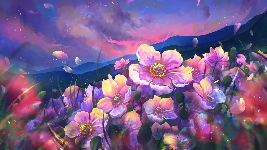Flowers of the mountains by LiliiaSokolova