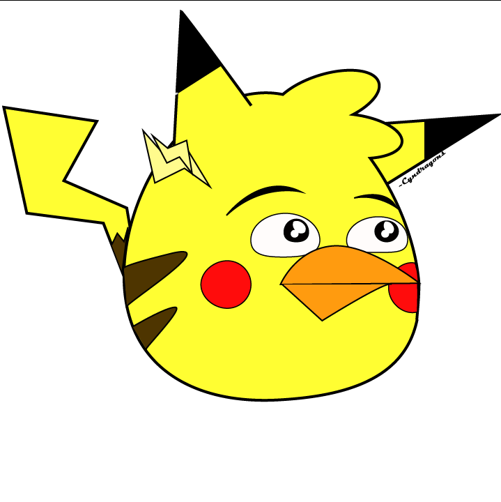 angry birds pig pikachu - photo #1