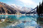Almaty Lake... by LordXar