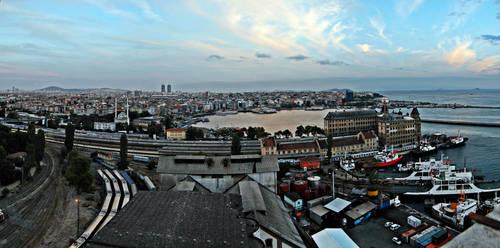Kadikoy Panorama by LordXar