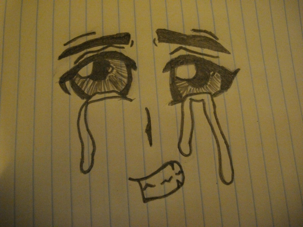 Crying Anime Eyes by Skadadle on DeviantArt