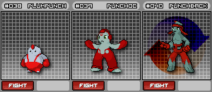 FIGHTING TYPE FAKEMON by Noctalaty