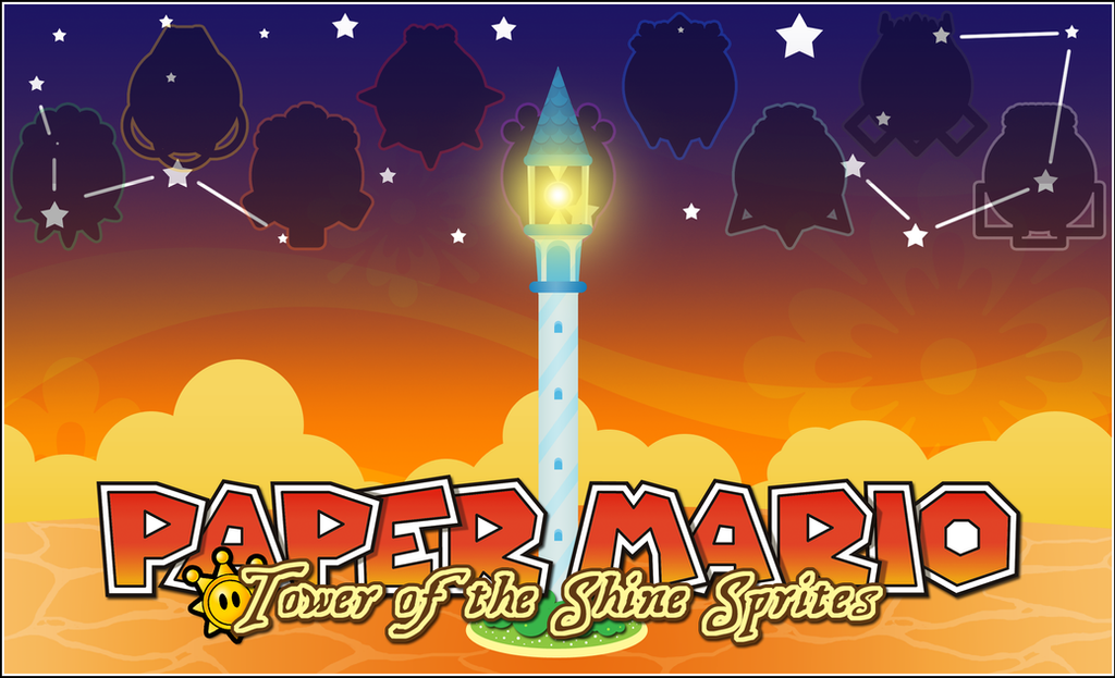 PAPER MARIO TOWER OF THE SHINE SPRITES By Noctalaty