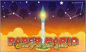 PAPER MARIO TOWER OF THE SHINE SPRITES