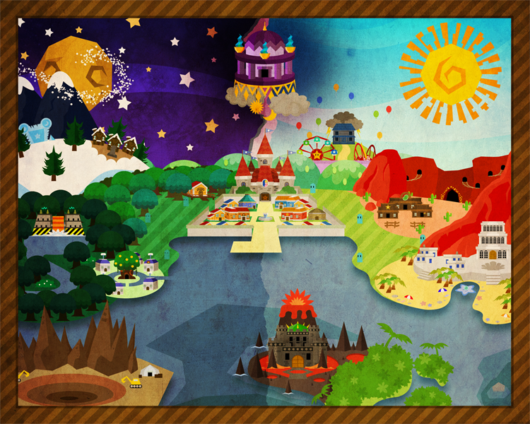 A rather old nsmb world map by prototypedknife on deviantart paper mario the celestial clock world map by noctalaty publicscrutiny Choice Image