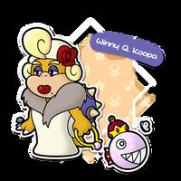Paper Mario Partners - Winny Q. Koopa