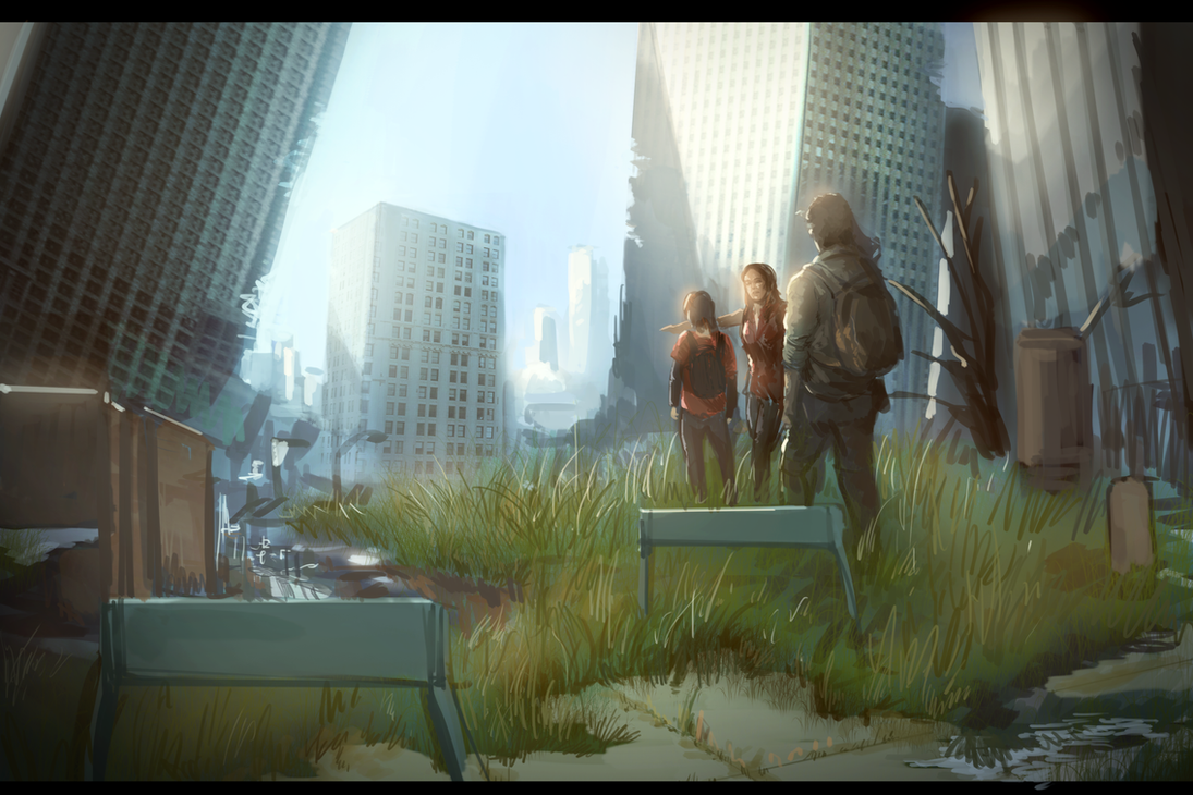 the last of us by MACCOLA