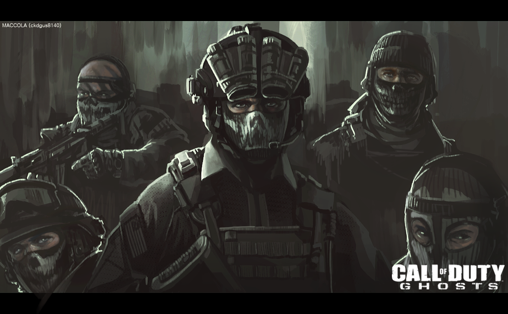 Call of Duty Ghosts Riley Wallpaper Call of Duty Ghosts by Maccola