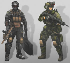 spec ops 2045 by MACCOLA