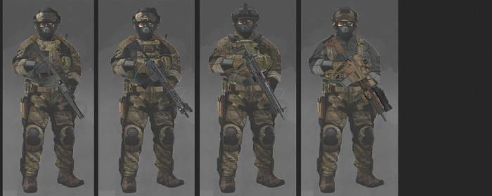soldier concept by MACCOLA
