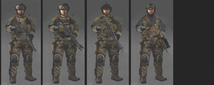 soldier concept (2) by MACCOLA
