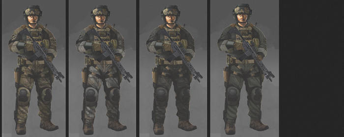 soldier concept (3) by MACCOLA