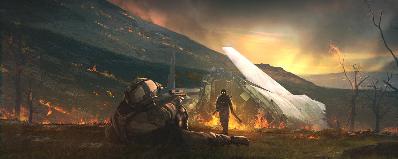 modern apocalypse by MACCOLA
