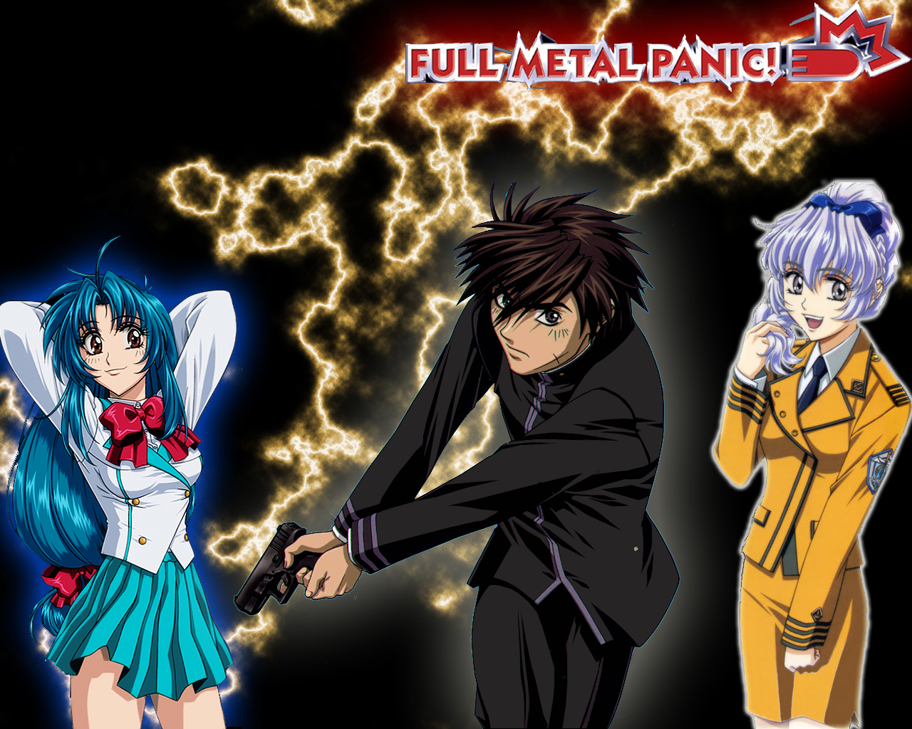 Full Metal Panic Wallpaper 2 By Whiskers500