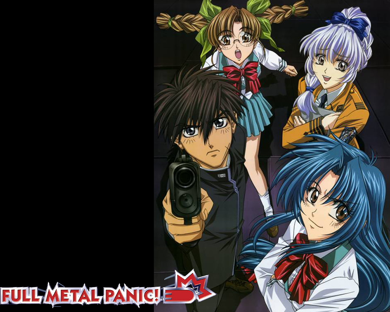 Full Metal Panic Wallpaper By Whiskers500