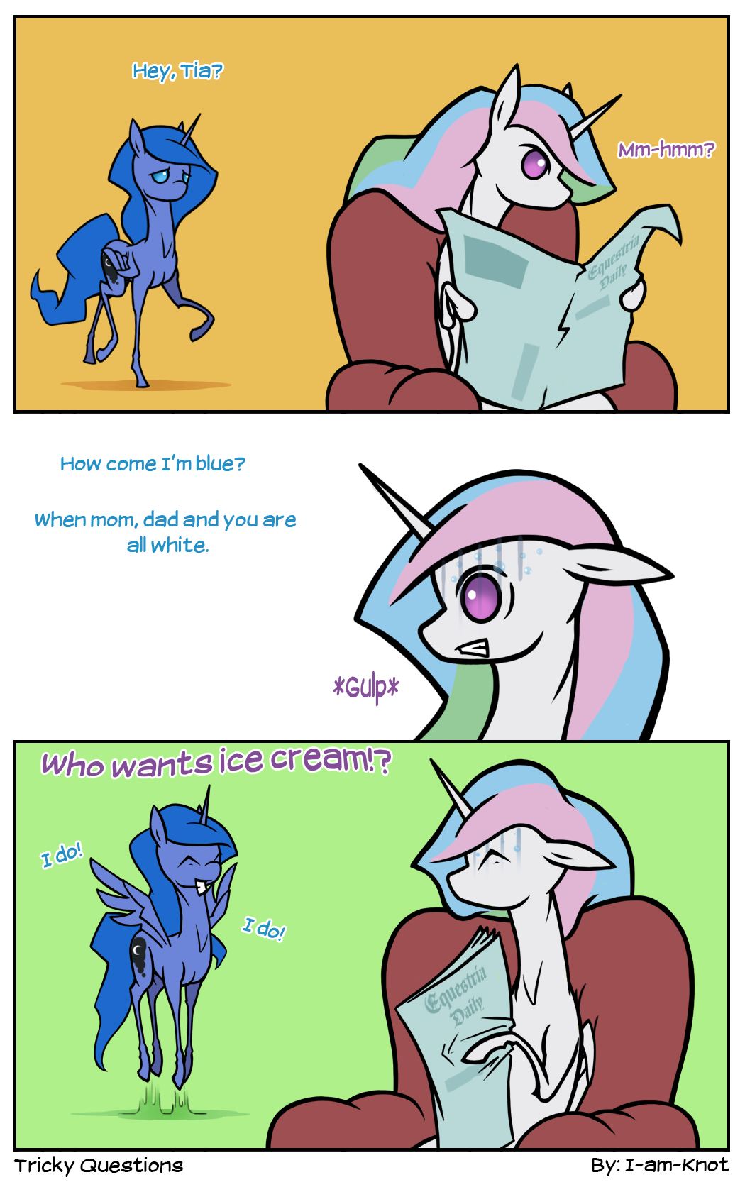 Tricky Questions by I-am-knot
