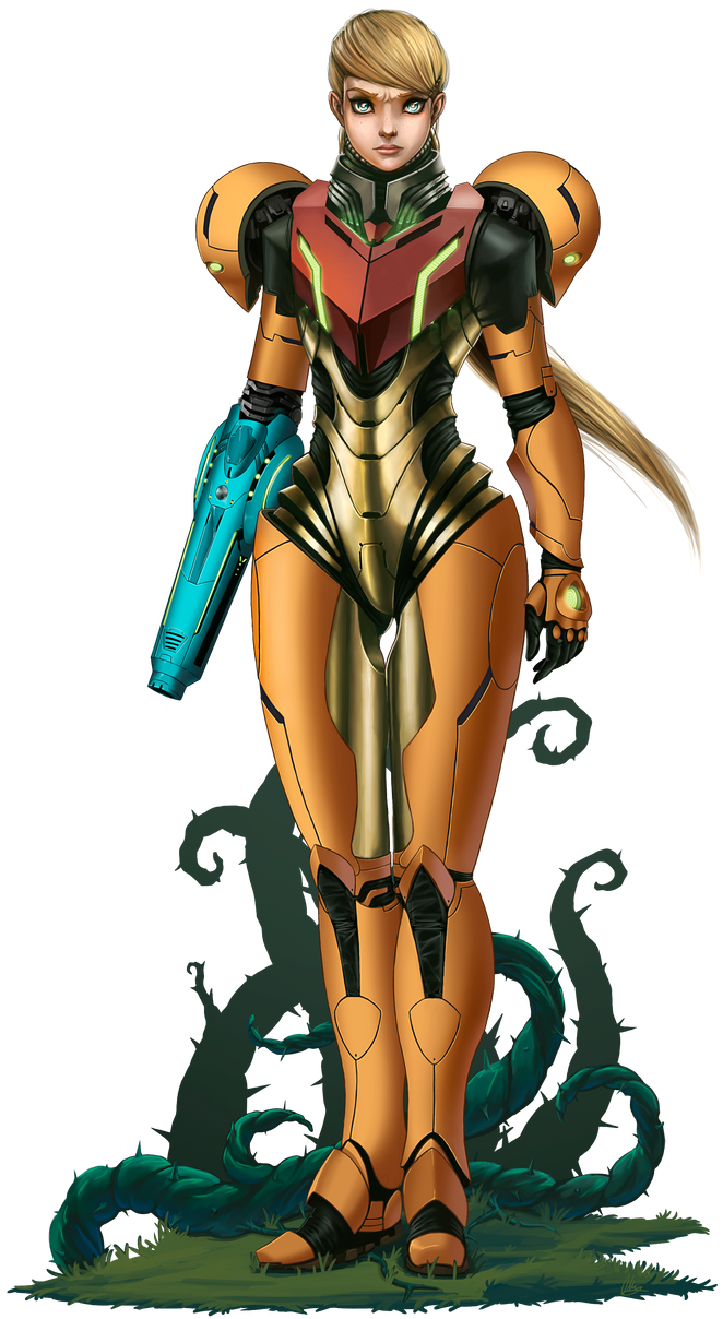 Samus Aran by I-am-knot