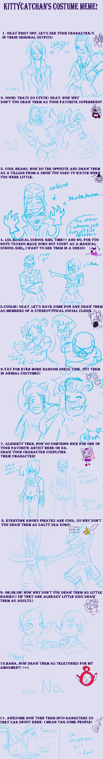 Costume Meme by Sabbathcat85