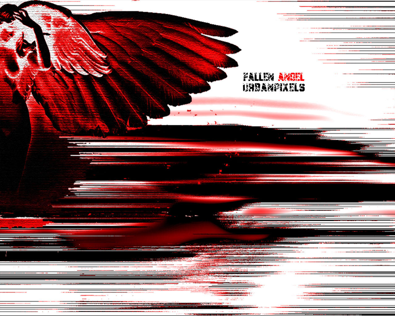 Fallen Angel in Darkness by technics