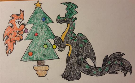Lokid plus a tree by PurpleHolking