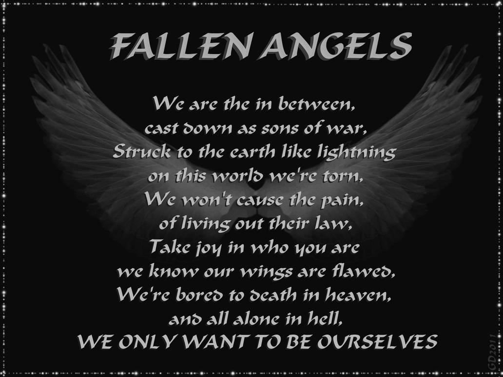 BVB Fallen Angels Lyrics by GD0578 on DeviantArt