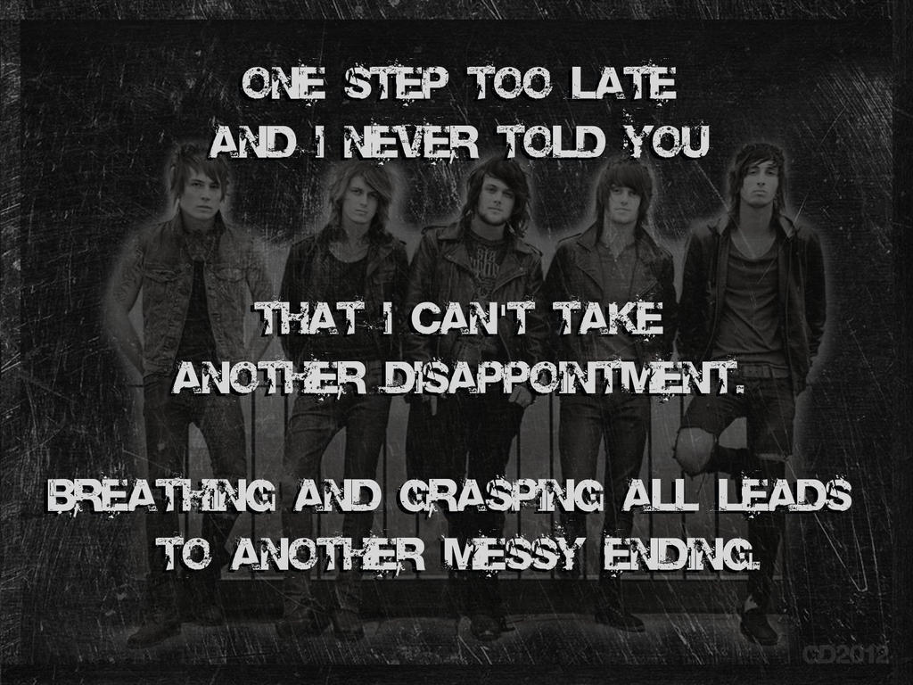 asking alexandria not the american average lyrics by