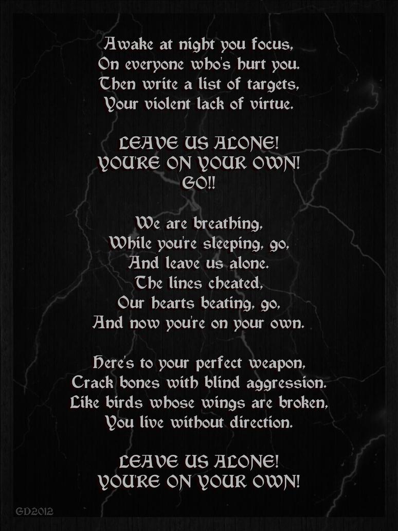 Lyrics on Pinterest | Black Veil Brides, Falling In Reverse and ...
