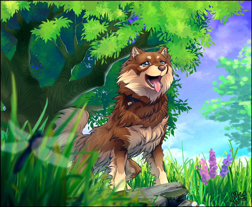 Springtime of Youth by henu