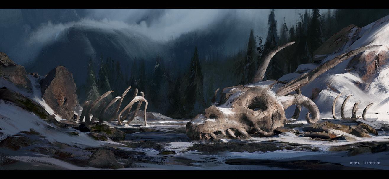 Frozen bones by pulsid111