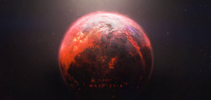 Planet WASP 21-A