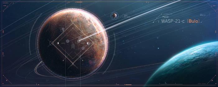 Planet BULO [close-up]
