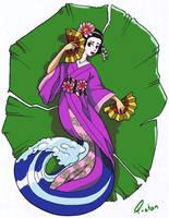 Geisha Lotus by smileofaP-chan