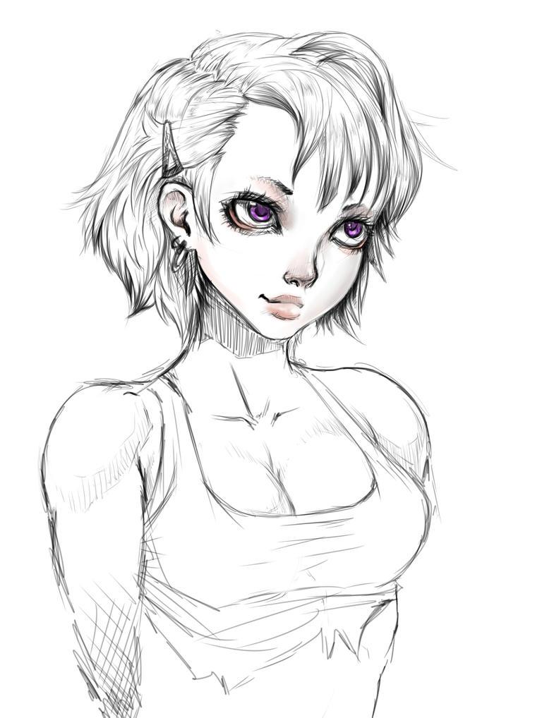 girl by kouta77