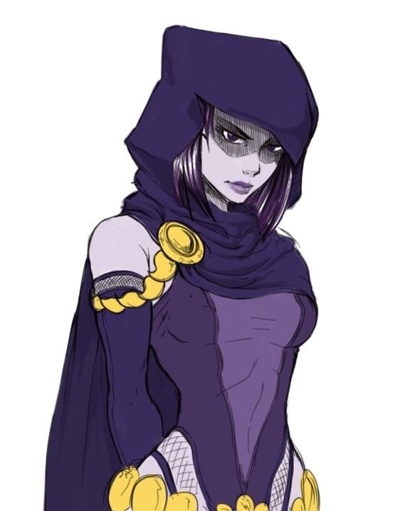 Fast raven sketch by kouta77
