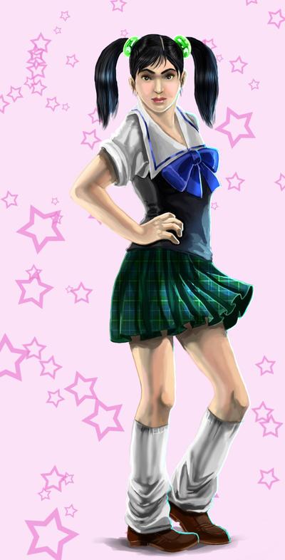Ling Xiaoyu School Ling Xiaoyu School Uniform