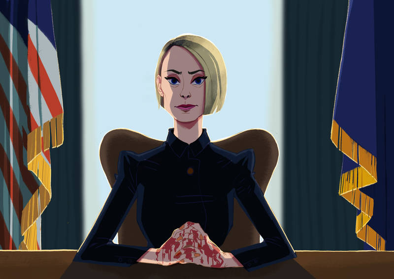 Claire Underwood by julitka