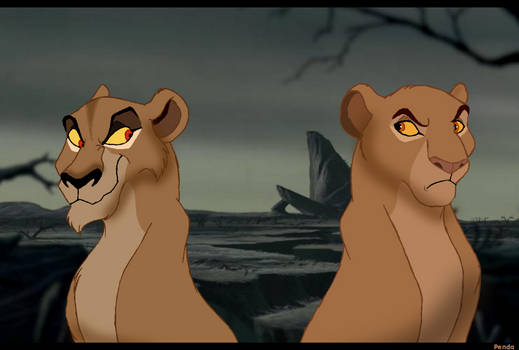 Zira and Sarabi